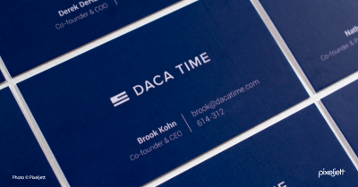 DACA Time Business Cards