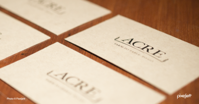 Acre Business Cards