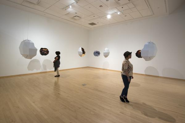 Human Visual Field immersive art installation Temple Contemporary Philadelphia