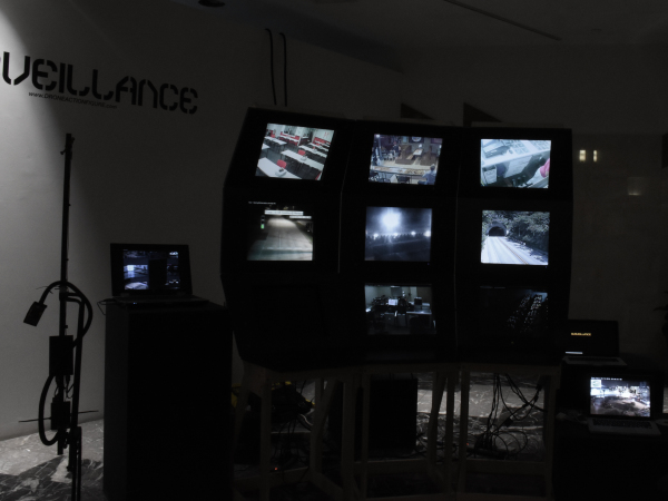 Surveillance Camera / Security Desk