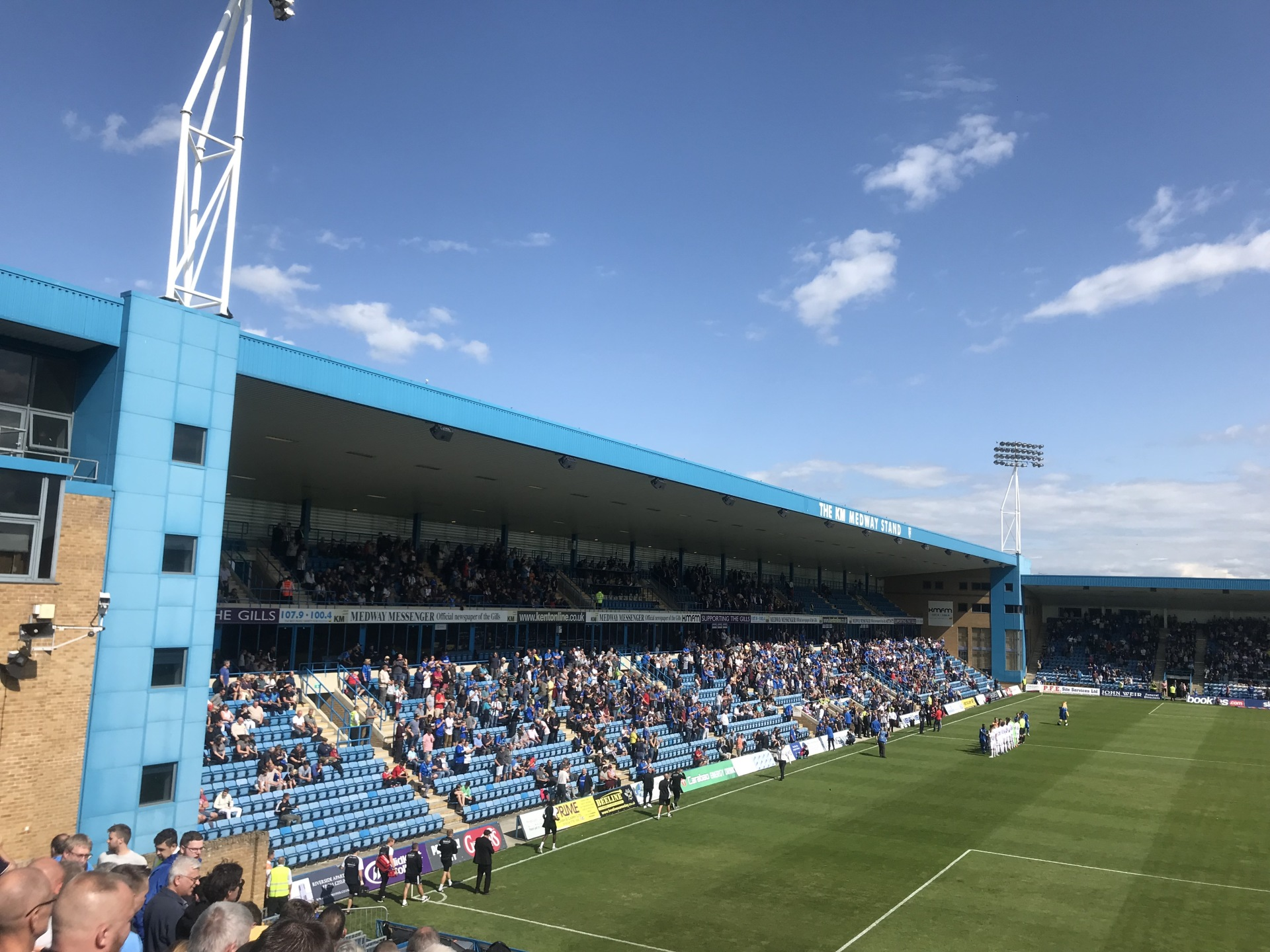 Soaked at Priestfield
