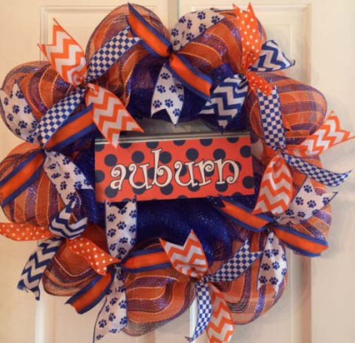 Auburn Wreath