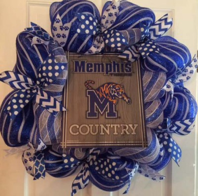 Memphis Tigers Country Wreath