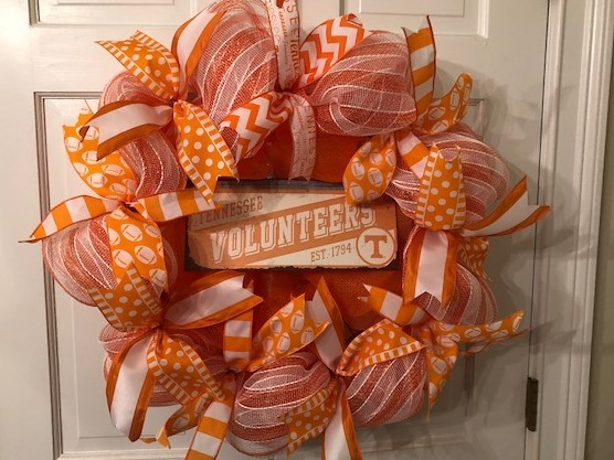 University of Tennessee Volunteers Wreath