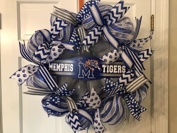 University of Memphis Wreath