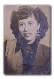 1950 photograph of Dominga Ledesma
