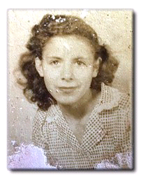 1950s photograph of Lydia (Petra) Reyes
