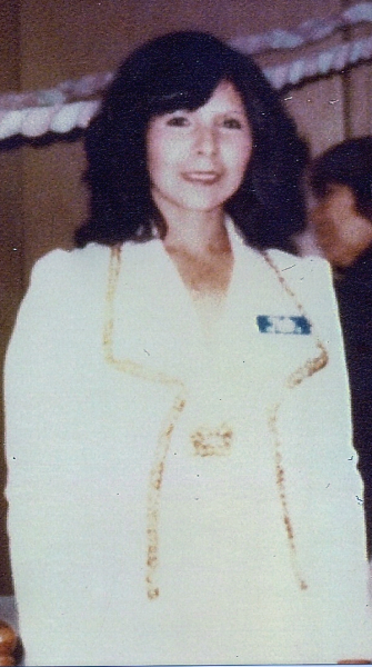 1975 photograph of Maria Norfelia Perales