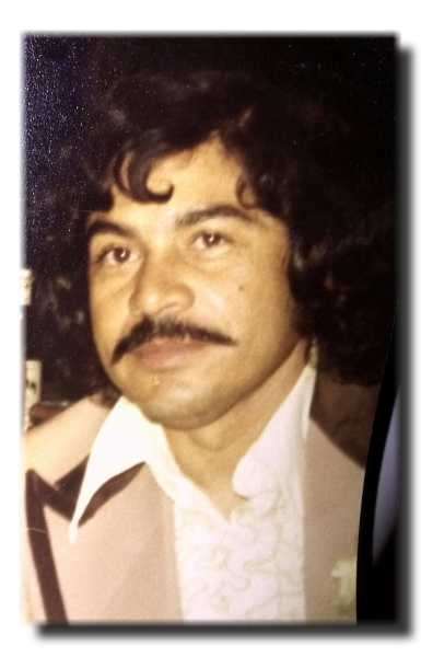 1977 photograph of Joe David Reyes Sr.