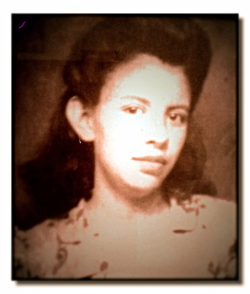 1950s photograph of Estefana Reyes
