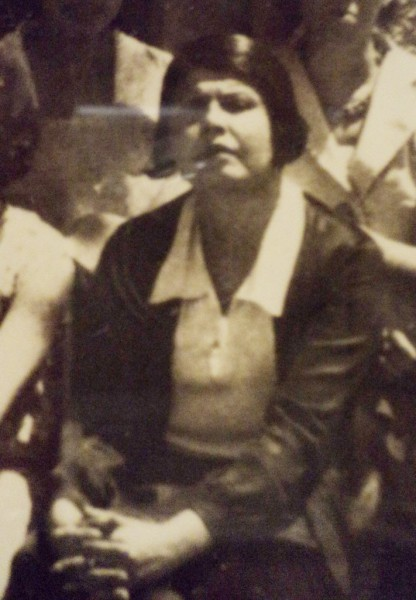 1950s photograph of Elvira Hinojosa