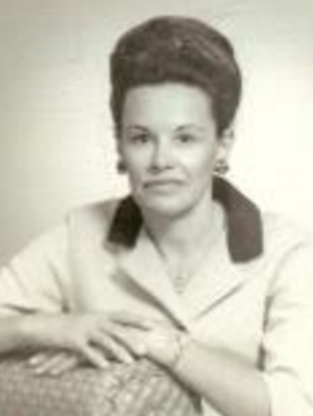 1960s photograph of Lucia Reyes