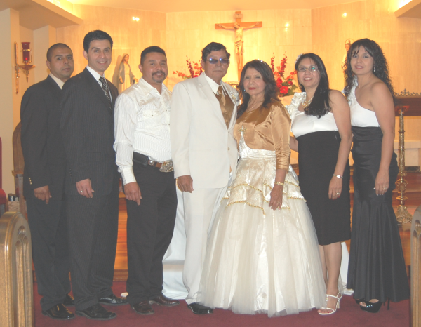 50th Wedding Anniversary of Joe David Reyes Sr. and Maria Norfelia Perales