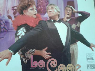 "Professional and Community Theatre is part of Johns resume. Here pictured in the role of Georges, in ""La Cage au Folles"" at the Venice Theatre in Venice Florida."