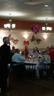 John Performing at the Elks Lodge Bradenton