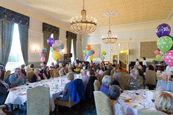 10th Anniversary Celebrations at the Spa Hotel