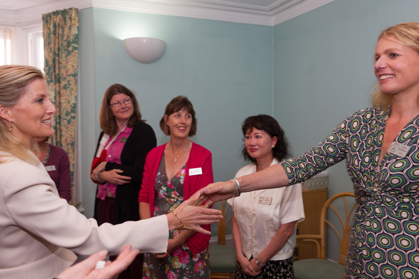 Visit by HRH, Sophie, Countess of Wessex