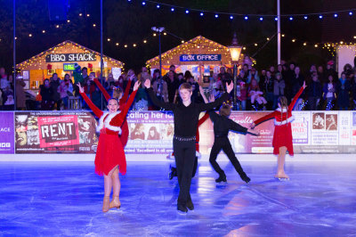 Ice Rink Launch