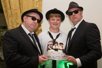 Blues Brothers Halloween Dinner