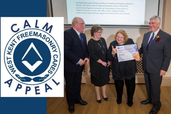A BIG thank you to the West Kent Freemasons