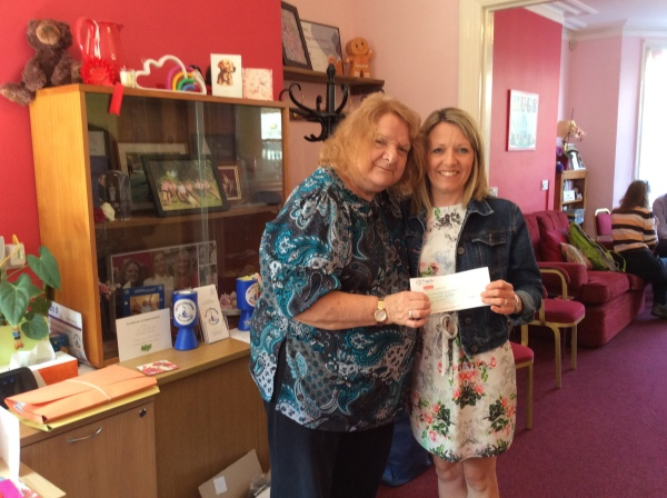 BIG Thanks to Fidgets Nursery for raising £500 for us