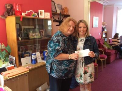 BIG Thanks to Fidgets Nursery for raising £500 for us