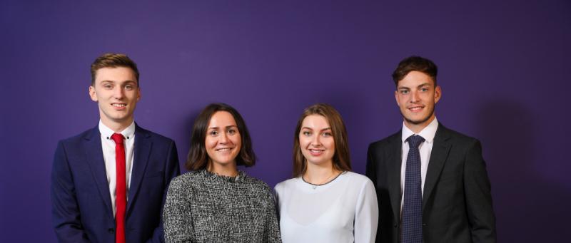 Five graduates join Carter Jonas at Oxford