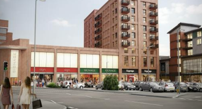 Go-ahead for more flats and shops in Farnborough
