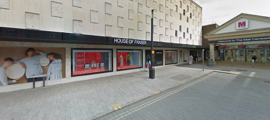 'Flexible solution' for Camberley House of Fraser store