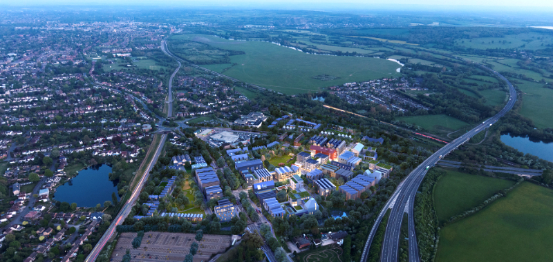 £18.85m infrastructure boost for Oxford North