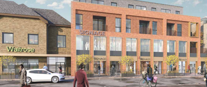Cinema plan for Caversham submitted