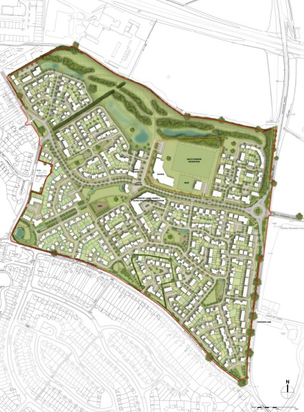 Consent given for 100 homes at Matthewsgreen Farm
