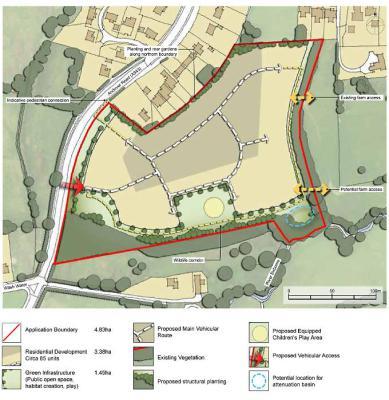 Gladman Developments plans 85 more homes in Newbury