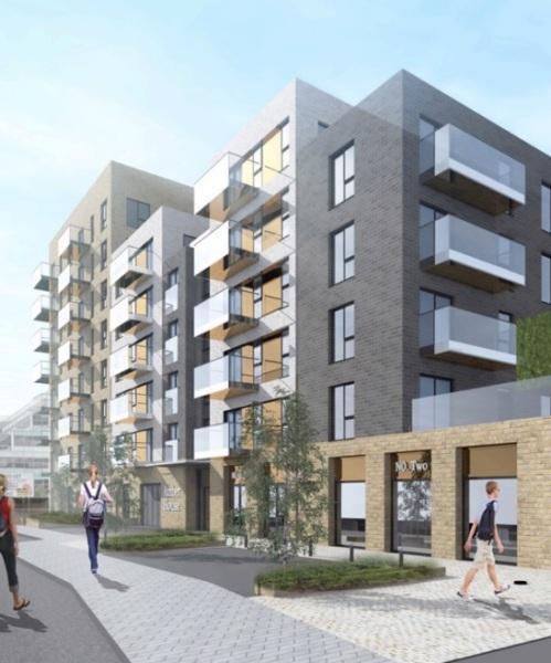 200 more flats for central Bracknell