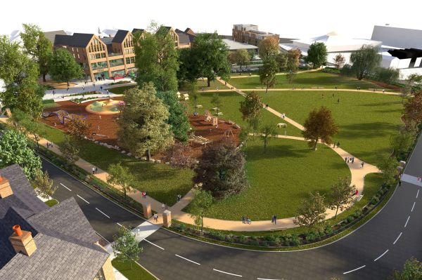 New plans submitted for Elms Field, Wokingham