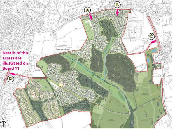 Consultation starts on 2,000 homes plan