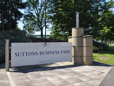 Retail plan for Suttons Business Park