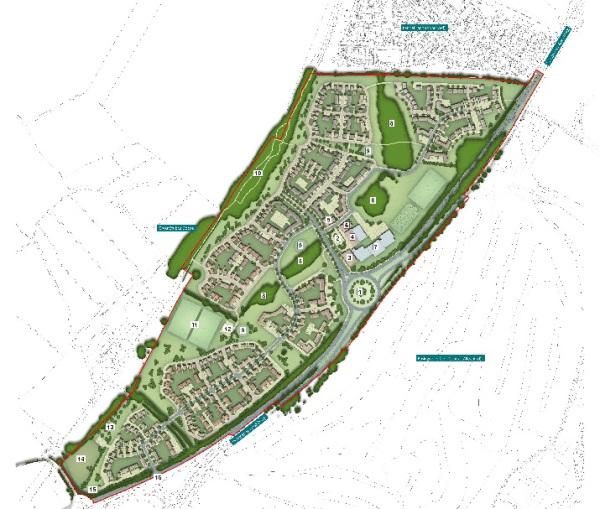 Plans for 750 homes at Basingstoke