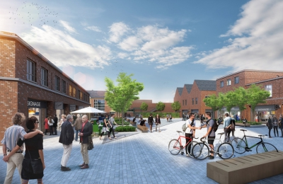 Peach Place, Wokingham designs to be chosen by locals