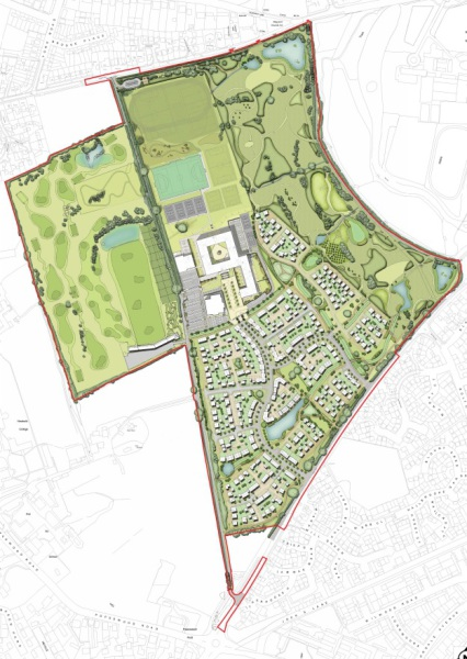 Plans submitted for 400 homes at Blue Mountain Golf Club