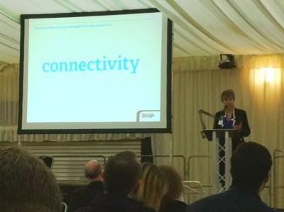 Ruth Bagley speaking