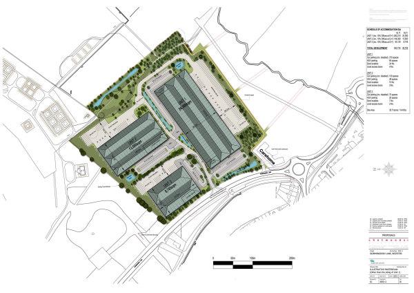 Albion Land unveils £50m industrial development