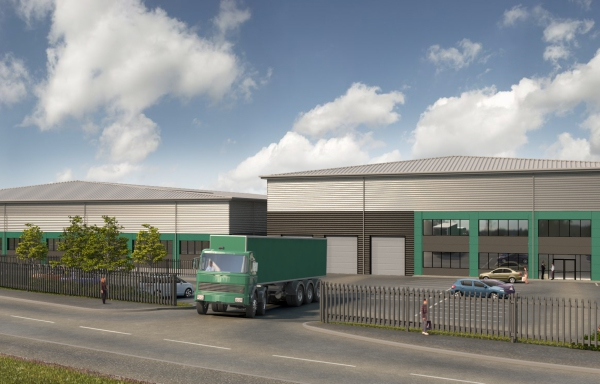 Kier plans industrial units for Houndmills site