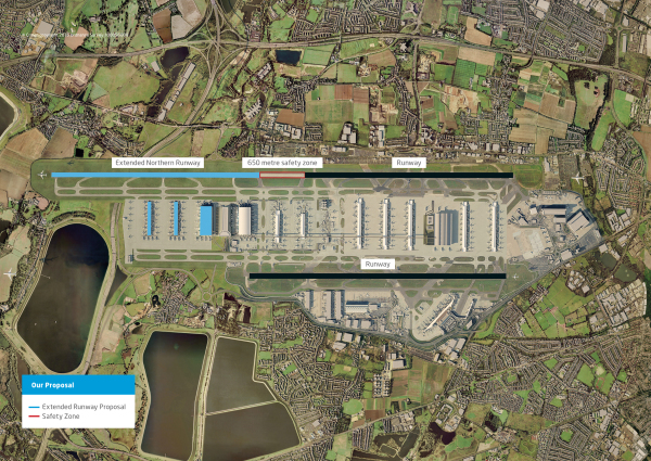 Heathrow Hub says runway extension could be £5bn cheaper