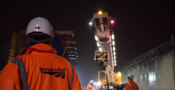 Network Rail awards £90m Crossrail contracts