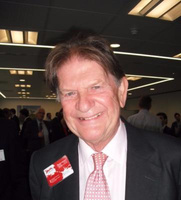 Sir John Madejski joins guests at First Tuesday Club