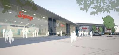 Demolition starts ahead of Farnborough retail scheme