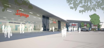 Demolition starts ahead of Farnborough retail scheme