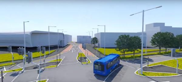 Slough mass rapid transit system works begin