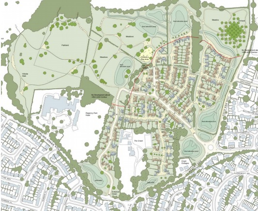 New application for Henwick Park, Thatcham reduced to 225 homes